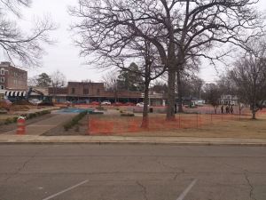 Frisco Park Construction