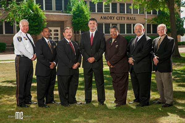 Amory City Officials