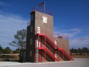 training tower 2
